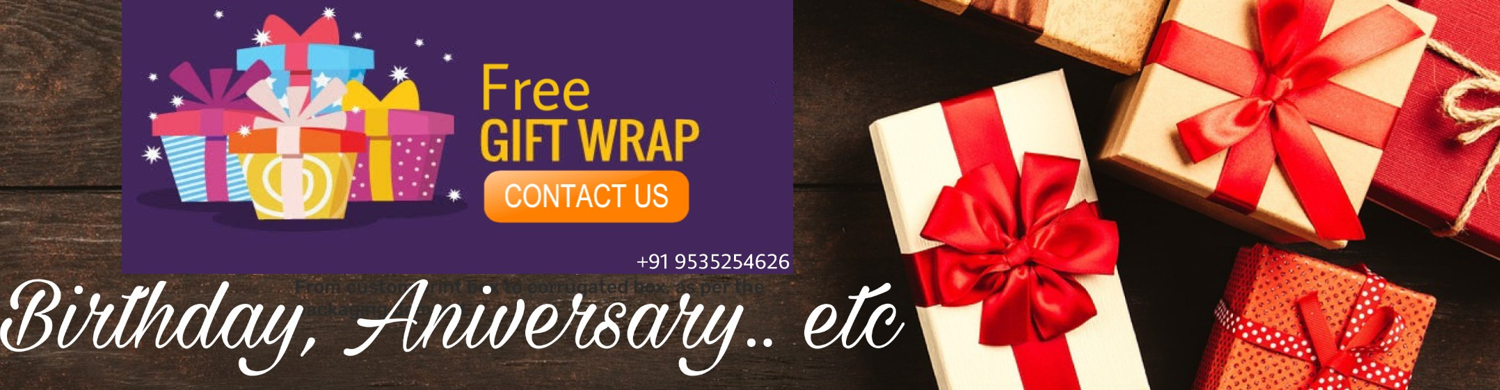 Birthday Chocolate Gift Buy Online